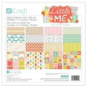 "Набор бумаги DP Craft Paperology ""LITTLE ME"" 30,5х30,5 см. 32 листа"
